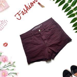 AEO HI-RISE Shortie Shorts